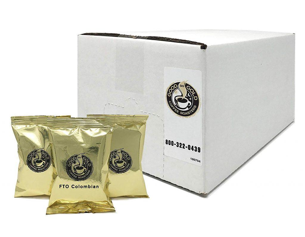 Fair Trade Organic Pre Measured Colombian Coffee