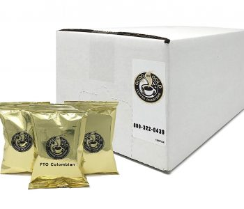 Fair Trade Organic Pre Measured Colombian Coffee