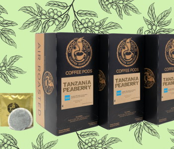 Tanzania Peaberry Coffee Pods